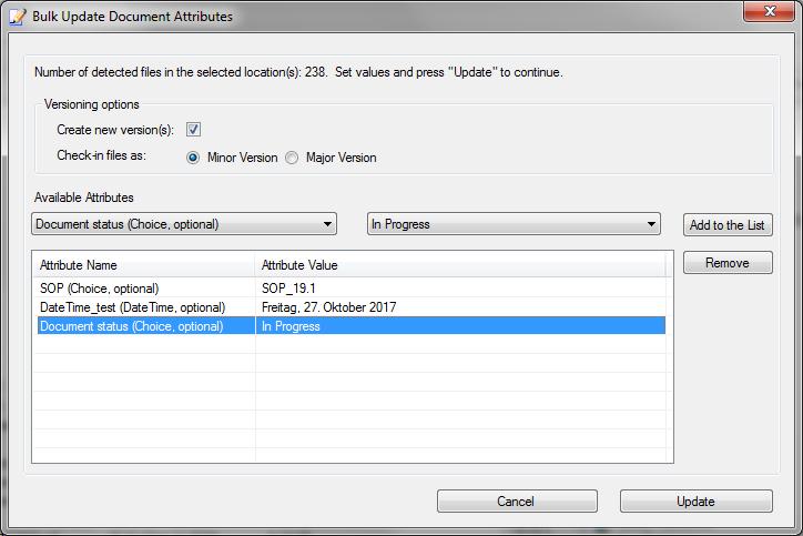 Bulk Update Document Properties in SharePoint